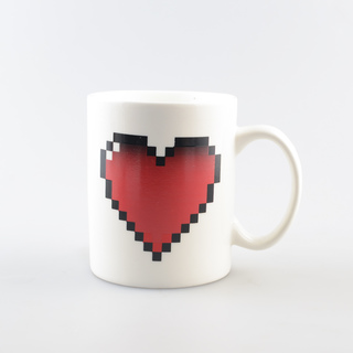 Iyach Heat Activated Mug Heart