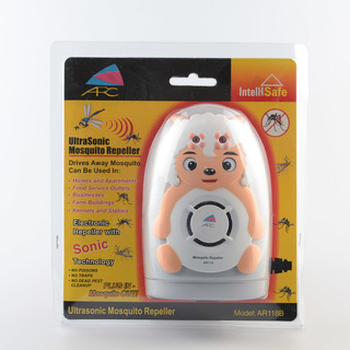 ARC AR118A-3 Ultrasonic Mosquito Repeller Lamb (Grey/White)