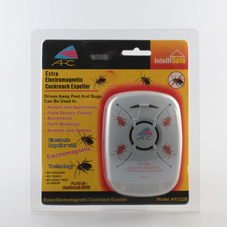 ARC AR-123 Extra Electromagnetic Cockroach Repeller (Grey)