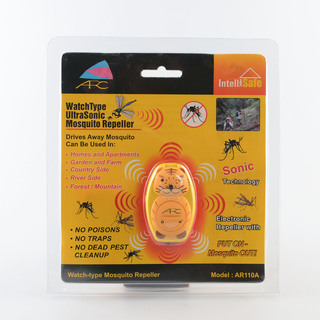 ARC AR119B Portable Ultrasonic Tiger Mosquito Repeller (Yellow)