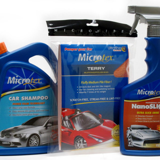 Microtex Package CAR CARE KIT LAZ-500C (SET OF 3)