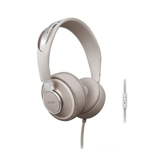 Philips DOWNTOWN Style on-ear spring steel headband with universal mic Grey (SHL5605GY-10)