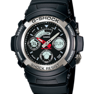CASIO G-SHOCK WATCH (AW-590-1A)