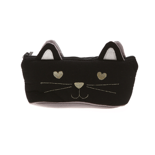 Artbox Cat Pencil Case (BLACK-GRAY)