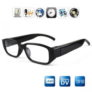 720P HD glasses eyeglass pinhole Camcorder Hidden spy DVR Camera