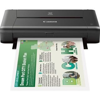 Canon iP110 Wireless Mobile Printer (Black)