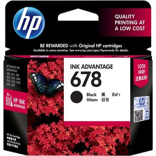 HP CZ107AA 678 Ink Catridge (Black)